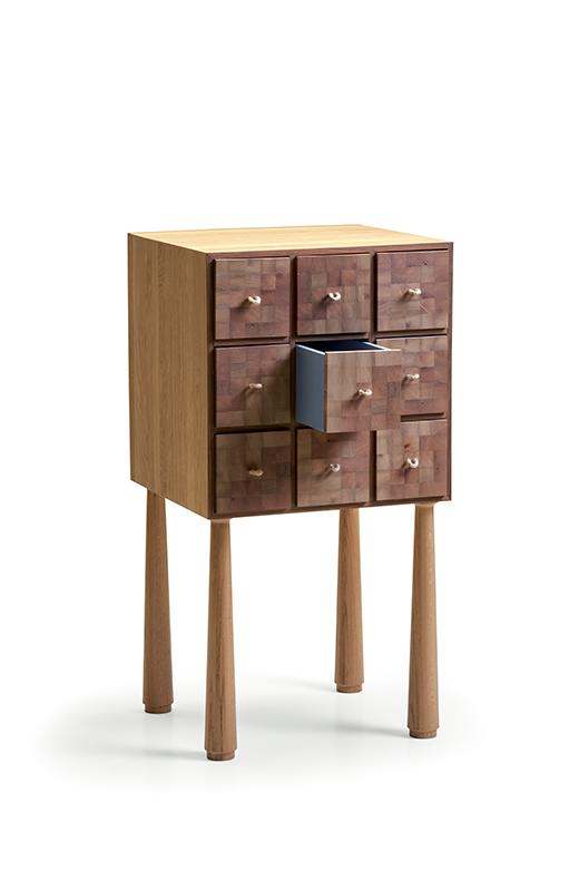 turi cassettiera desine oggetto complemento oggetto collezione